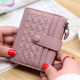 Spesifikasi Wanita Jepang Dan Korea Fashion Style Ritsleting Kecil Wallet Baru Wallet Chestnut Fen Oem