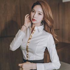 Harga Wanita Lengan Panjang Profesi Baju Dalaman Kemeja Putih Putih Yang Bagus