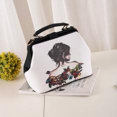 Harga Wanita Manis Baru Bahu Selempang Miring Tas Tangan Tas Model Sembilan Terbaik