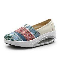 Harga Wanita Mode Sneakers Sepatu Kasual Kaki Sepatu Manis Wanita Fashion Sepatu Sepatu Kasual Sepatu Manis Walking Shoes Intl Yang Bagus