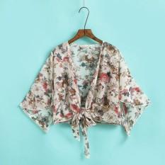 Sifon Selendang Perempuan Musim Panas Mantel Tipis Baju Pelindung Matahari  2018 Model Baru Netral Musim Panas 8376859bdf
