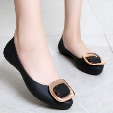 Sepatu Jelly Wanita 2018 Musim Semi Dan Musim Gugur Musim Panas Model Baru Netral Anti Selip Sepatu Anti Air Sepatu Karet Sepatu Bot Hujan Sol Datar Mulut Dangkal Sepatu Boots Hujan Bernapas By Koleksi Taobao