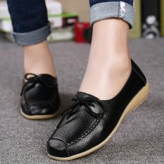 Harga Wanita Her Datar Manis Sepatu Kasual Nyaman Mengemudi Sepatu Wanita Sepatu Wanita Sepatu Manis Sepatu Kausal Nyaman Mengemudi Sepatu Hitam Oem