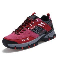 Wanita Sepatu Daki Gunung Sepatu Olahraga Naik Mt. Sepatu Trekking Yang Wanita Daki Gunung Sepatu Olahraga Sepatu Merah