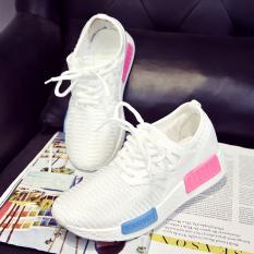 Berapa Harga Sepatu Olahraga Wanita Bersirkulasi Udara Versi Korea Putih Putih Other Di Tiongkok