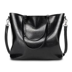 Diskon Produk Wanita Tas Pegangan Atas Tas Shoulder Bag Top Purse Messenger Tote Bag Hitam