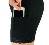 Wanita Ukuran Besar Bagian Tipis Celana Selutut Hitam Baju Wanita Celana Wanita Di Tiongkok