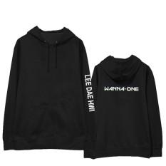 Wanna One Taman Chi Pelatihan Di 冠霖 Bandara Model Sama Anggota Nama Hoodie Kaos Sweater Sweter Jaket Pakaian Pria dan Wanita