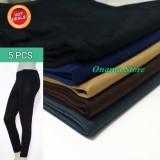 Jual Warna Favorit 5 Pcs Legging Panjang Spandex Celana Wanita Lejing Panjang Jumbo Standar Dan Abg Di Indonesia
