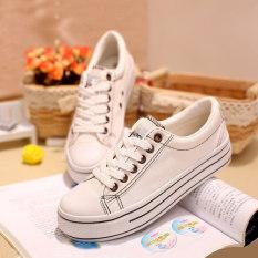 Harga Warna Solid Perempuan Yang Berat Itu Mahasiswa Asli Sepatu Global Yang Putih Kopi Sepatu Wanita Sepatu Sport Sepatu Sneakers Wanita Universal Baru