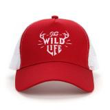 Harga Warna Solid Pria Di Musim Semi Dan Musim Panas Matahari Topi Jala Topi Merah Seken