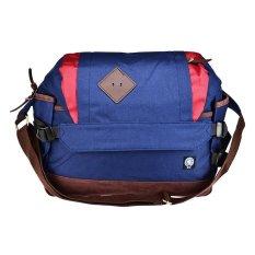 Jual Warning Clothing Messenger Bag Parker Navy Branded Murah