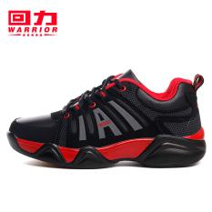 Warrior Korea Modis Gaya Memakai Peredam Guncangan Bola Sepatu Sepatu Sneakers (Hitam atau Merah)