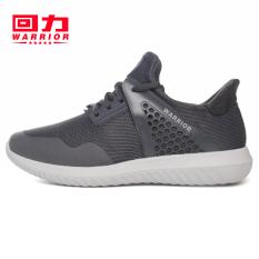 Warrior Korea Modis Gaya Memakai Peredam Guncangan Bola Sepatu Sepatu Sneakers (Model E Abu-abu)