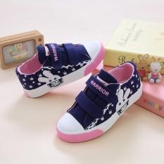 Jual Warrior Korea Fashion Style Perempuan Remaja Sepatu Sepatu Anak 171008 Biru Lengkap