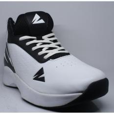 Warriors Putih Hitam Sepatu Basket By Armor -E.