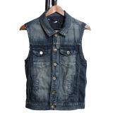 Review Mencuci Celana Jeans Denim Without Lengan Rompi Cowboy Slim Fit Ukuran Better Rompi Biru Hong Kong Sar Tiongkok