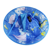 Cara Beli Tahan Air Anak Hair Cutting Jubah Kids Rambut Apron Cape Blue Dolphin To Flaunt