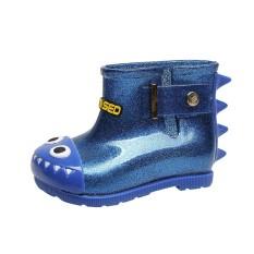 Tahan Air Anak Shark Karet Bayi Baby Rain Boots Anak-anak Anak-anak Hujan Sepatu-Intl