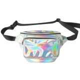 Jual Laser Tahan Air F*Nny Pack Pu Hologram Laser Hip Pinggang Packs Women Belt Bag Travel Kasir Model Kantong Silver Intl Di Tiongkok