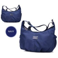 Jual Waterproof Nylon Shoulder Bag Tas Selempang Cs 020Nv Navy Branded