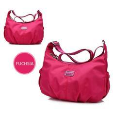 Jual Waterproof Nylon Shoulder Bag Tas Selempang Wanita Import Cs 020 Satu Set
