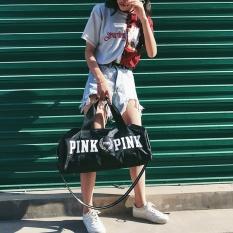 Spesifikasi Tahan Air Oxford Wanita Merah Muda Gym Tas Kebugaran Totes Sport Tas Intl Baru