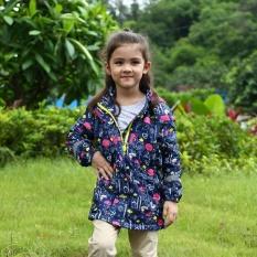 Jual Beli Online Tahan Air Windproof Baby Girls Jaket Baju Anak Anak Musim Dingin Pakaian Musim Gugur Biru