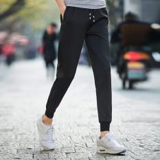 Ulasan Lengkap Zip Tahan Air Bernapas Sports Casual Bola Basket Sepak Bola Pelatihan Celana Celana Intl