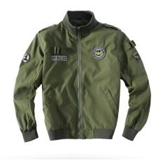 Weargen 2017 Berkualitas Tinggi Ma1 Hijau Tentara Taktis Militer Varsity Penerbangan Jaket Pilot Angkatan Udara SEBAGAI Pembom Jaket For Pria Pakaian 520-Hijau Tentara