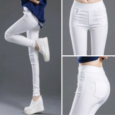 wearing-leggings-pants-pants-pencil-pants-women39s-elastic-pants-pants-black-casual-pants-mmm-store-k000067-white-intl-1632-13929607-feeec390a6fc4758b88c5786a75c454a-catalog_233 Toko Legging Wanita Terbaik dilengkapi dengan Daftar Harganya untuk tahun ini