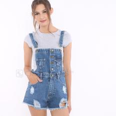 Ckey Wearpack Hotpants Jeans / Overall Jeans / Hotpant Jeans KT201-2