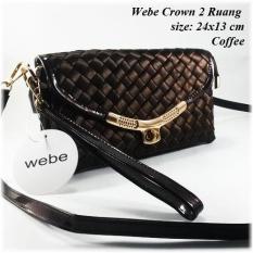 Webe Crown 2 Ruang - Tas Impor - Tas Slempang - Tas Murah - Tas Wanita