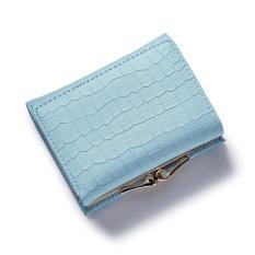 Katalog Weichen Wallet Dompet Weichen Wanita Pu Leather Blue Terbaru