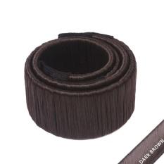 Weisizhong Women G*rl Hair Diy Styling Donut Former Foam French Twist Magic Tools Bun Maker Intl Louis Will Diskon 50