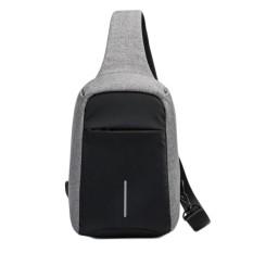 Weiyue Fashion Anti-theft Laptop Notebook Backpack USB Charging Port School Bag G - intl
