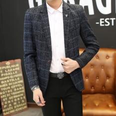 Selamat Datang Muda Pakaian Pria Bisnis Santai Setelan Perbaikan Versi Korea dari Pria Setelan Mantel Kencang-Internasional
