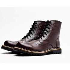 Beli Wetan Shoes Sepatu Boots Pria Classic Premium Brown Cicil