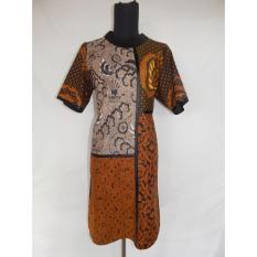 Whiens Dress Batik Kombinasi