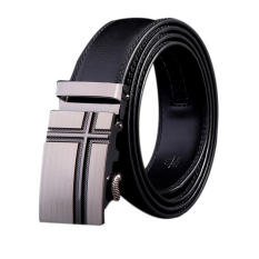 Spesifikasi Seluruh Sabuk Tunggal Leather Belt Buckle Fashion Tekanan Kata Logo Intl Online