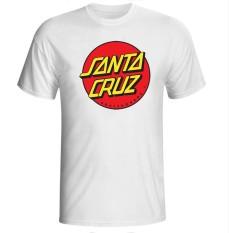 Grosir Modis Kaus Santa Cruz Pria Modis Putih Kaus Sepeda Gunung Kapas Lengan Pendek Kaus #4-Internasional