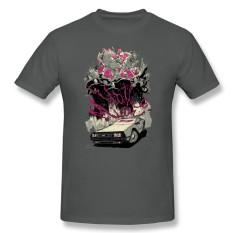 Grosir TERBAIK Kualitas Pria Kaus Besar Meter Kaus Creator Uap Permainan Atasan dengan Hotline Miami Pria Kustom Kaus Pendek arang-Internasional