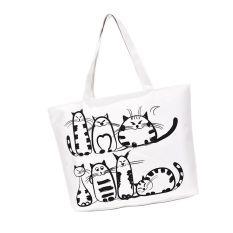 Harga Whyus Tahan Kualitas Tinggi Wanita Gadis Kartun Kucing Lucu Yang Dapat Membuat Orang Yang Melihatnya Tertawa Terbahak Bahak Atau Justru Kesal Karena Merasa Praktis Mencetak Buku Besar Belanja Tas Kanvas Besar Internasional Oem Asli