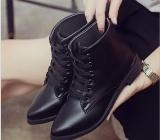 Beli Gaya Liar Sepatu Murni Warna Boots With Non Slip Hangat Martin Boots Grosir Intl