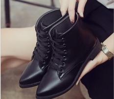 Diskon Gaya Liar Sepatu Murni Warna Boots With Non Slip Hangat Martin Boots Grosir Intl Oem Di Tiongkok