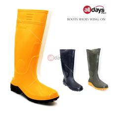 Spesifikasi Wing On Sepatu Boot 8898 Kuning Wing On Terbaru