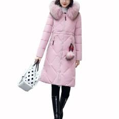 Spek Kerah Bulu Musim Dingin Jaket Mantel Tebal Besar Intl Tiongkok