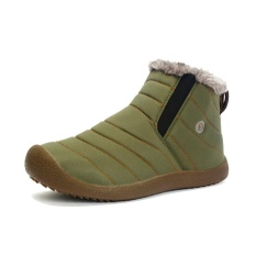 Musim Dingin Pria Dan Wanita Dengan Kapas Olahraga Sepatu Plus Kasmir Penebalan Jaket Hangat Sepatu Non Slip Leisure Travel Sepatu Plus Ukuran 35 48 Intl Promo Beli 1 Gratis 1