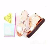 Beli Wk Fashion Sandal Casual Wanita Hits Silver Online Murah