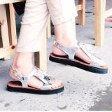 Harga Wk Fashion Sandal Wanita Platform Aleria Silver Jawa Timur
